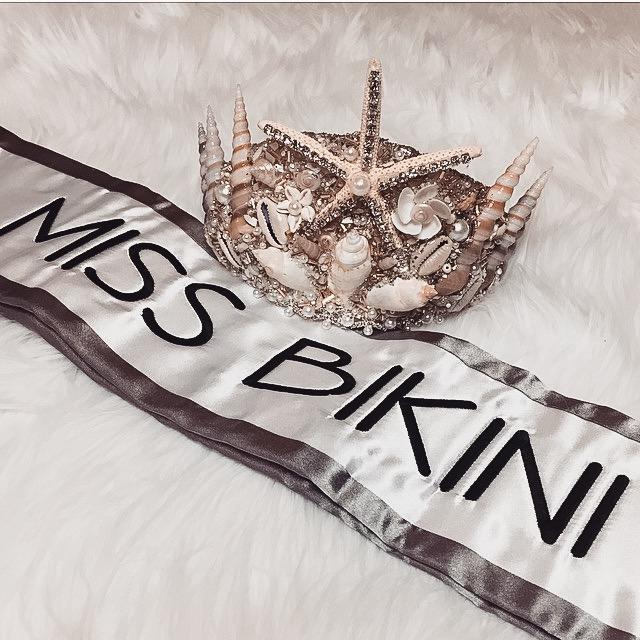 Miss Bikini Crown mermaid