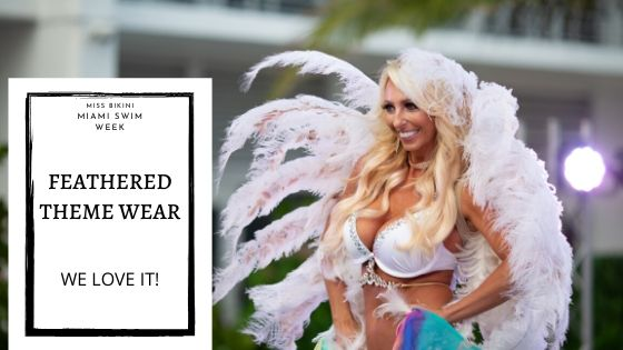 Hottest Feathered Fantasy Swimwear Outfits at Miss Bikini