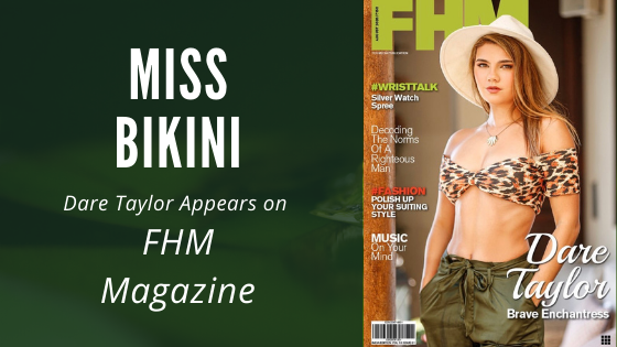 Miss Bikini 2019-20 on Cover of FHM Magazine