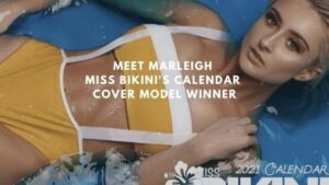 Meet Marleigh Miss Bikini Calendar Cover Model Winner